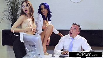 4 Interns Suck Cock for a Job - Aidra Fox Janice Griffith Lana Rhodes Riley Reid