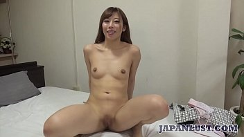 Japanese teen in black stockings sex and creampie